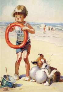 lifeguardnormanrockwell